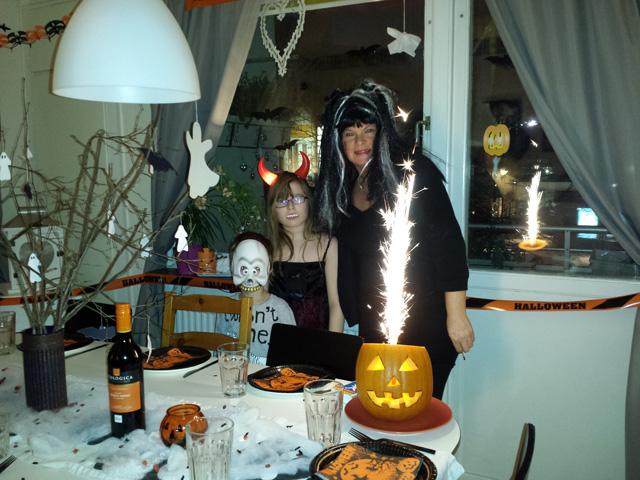 halloween hälsning 2013