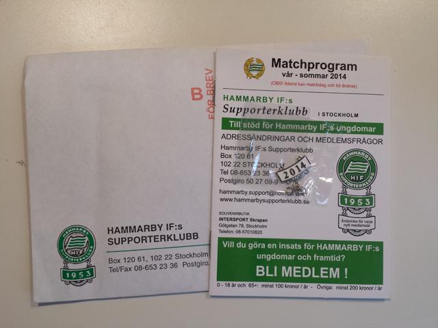 hammarby supporterklubb